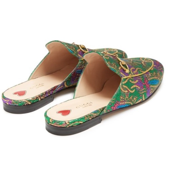 ee1594269ef Gucci Shoes - GUCCI Princetown jacquard backless loafers